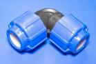 ПНД Угольник соединительный D 25 - Производство и продажа полипропиленовых труб «МегаТерм»