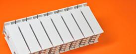 2.1. Радиатор Биметалл 150/120 - Производство и продажа полипропиленовых труб «МегаТерм»