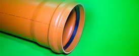 2. 4. Канализация.Труба D250 рыжая - Производство и продажа полипропиленовых труб «МегаТерм»