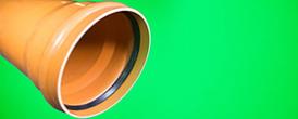 2. 7. Канализация.Труба D500 рыжая - Производство и продажа полипропиленовых труб «МегаТерм»