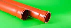 2. 1. Канализация.Труба D110 рыжая - Производство и продажа полипропиленовых труб «МегаТерм»