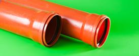 2. 2. Канализация.Труба D160 рыжая - Производство и продажа полипропиленовых труб «МегаТерм»