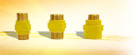 1.1. Муфта Газ. Диэлектрическая - Производство и продажа полипропиленовых труб «МегаТерм»