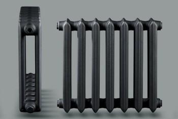 Радиатор Чугунный Urban U3-140.90.580/500-1,05 кВт  7 секций цвет графит (Н.Тагил) - Производство и продажа полипропиленовых труб «МегаТерм»