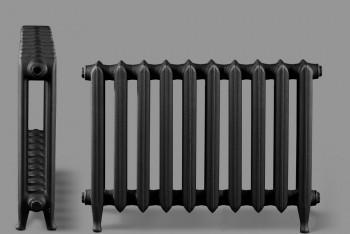 Радиатор Чугунный Deco D1-140.90.660/500-1,46 кВт 10 секций, Графит,Ножки (Н.Тагил) - Производство и продажа полипропиленовых труб «МегаТерм»
