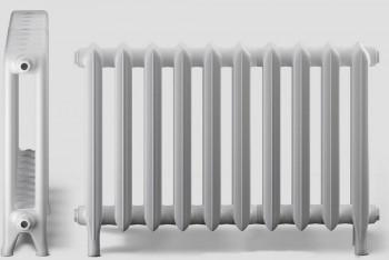 Радиатор Чугунный Deco D1-140.90.660/500-1,46 кВт 10 секций Белый,Ножки (Н.Тагил) - Производство и продажа полипропиленовых труб «МегаТерм»