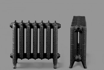 Радиатор Чугунный Deco D2-182.76.436/350-0,91 кВт  7 секций цвет графит (Н.Тагил) - Производство и продажа полипропиленовых труб «МегаТерм»