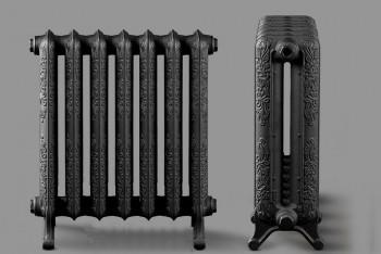 Радиатор Чугунный Deco D3-189.76.580/500-1,21 кВт  7 секций цвет графит (Н.Тагил) - Производство и продажа полипропиленовых труб «МегаТерм»