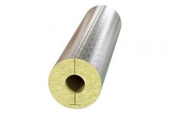 Цилиндр Минераловатный ЦМ-100 Фольгир.Al D 18х30 (1 м) - Производство и продажа полипропиленовых труб «МегаТерм»