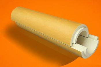 Скорлупа ППУ  57* 50 без Покрытия - Производство и продажа полипропиленовых труб «МегаТерм»