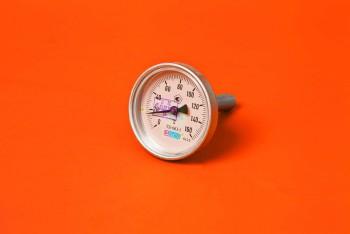 Термометр Биметалл  63мм, 200 *С, L= 40мм Осевой с Гильзой - Производство и продажа полипропиленовых труб «МегаТерм»
