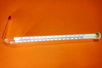 Термометр Спирт от -35*С до +50*С, L= 104мм угловой - Производство и продажа полипропиленовых труб «МегаТерм»