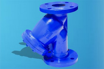 Чугун. Фильтр осадочный фланцевый Ду 65 - Производство и продажа полипропиленовых труб «МегаТерм»