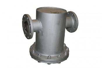 Сталь. Грязевик вертикальный фланцевый Ду125 - Производство и продажа полипропиленовых труб «МегаТерм»