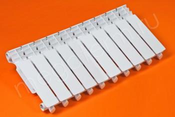 Радиатор Биметаллический 350/80 10 секций Тепловатт - Производство и продажа полипропиленовых труб «МегаТерм»