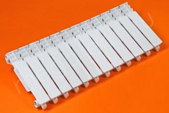 Радиатор Отопления Алюминий 350/80 12 секций STI - Производство и продажа полипропиленовых труб «МегаТерм»