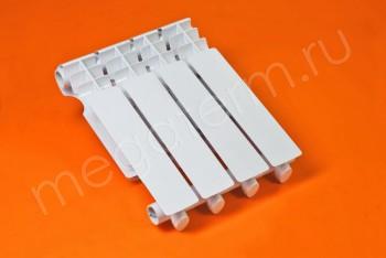 Радиатор Отопления Алюминий 350/80  4 секции Тепловатт - Производство и продажа полипропиленовых труб «МегаТерм»