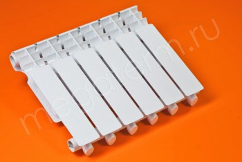 Радиатор Отопления Алюминий 350/80  6 секций Тепловатт - Производство и продажа полипропиленовых труб «МегаТерм»