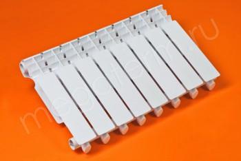 Радиатор Биметаллический 350/80  8 секций Тепловатт - Производство и продажа полипропиленовых труб «МегаТерм»
