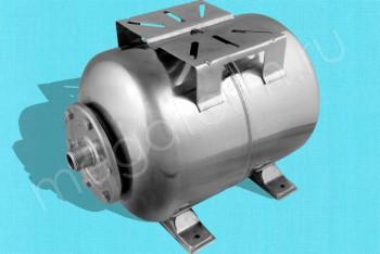 Гидроаккумулятор Нержав. Сталь  24 л Гориз. (Unipump) - Производство и продажа полипропиленовых труб «МегаТерм»