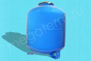 Гидроаккумулятор  50 л Верт. Верхнее Подключение (Unipump) - Производство и продажа полипропиленовых труб «МегаТерм»