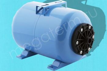 Гидроаккумулятор  18 л Гориз. Пластик. Фланец (Джилекс) - Производство и продажа полипропиленовых труб «МегаТерм»