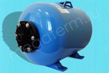 Гидроаккумулятор  24 л Гориз. Пластик. Фланец (Джилекс) - Производство и продажа полипропиленовых труб «МегаТерм»