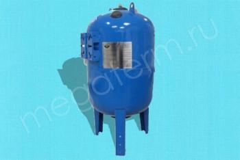 Гидроаккумулятор  80 л Вертикальный с площадкой - Производство и продажа полипропиленовых труб «МегаТерм»