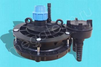 Оголовок Скважинный Пластик ОСПБ 130-140/32 (Джилекс) - Производство и продажа полипропиленовых труб «МегаТерм»