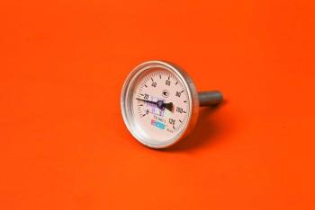 Термометр Биметалл 100мм, 120 *С, L= 50мм Осевой с Гильзой - Производство и продажа полипропиленовых труб «МегаТерм»