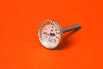 Термометр Биметалл 100мм, 150 *С, L=100мм Осевой с Гильзой - Производство и продажа полипропиленовых труб «МегаТерм»
