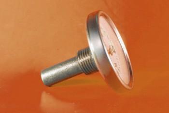 Термометр Биметалл 100мм, 200 *С, L= 40мм Осевой с Гильзой - Производство и продажа полипропиленовых труб «МегаТерм»
