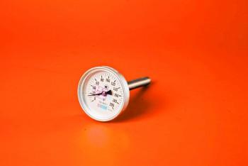 Термометр Биметалл 100мм, 200 *С, L=100мм Осевой с Гильзой - Производство и продажа полипропиленовых труб «МегаТерм»