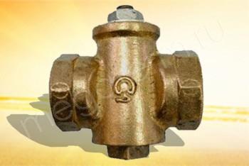 Кран Газовый Ду 25, 11Б39бк, Латунь - Производство и продажа полипропиленовых труб «МегаТерм»