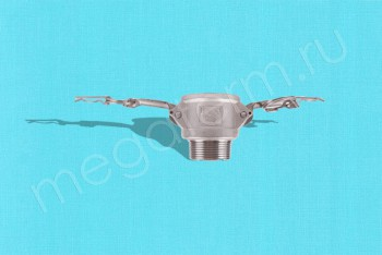 """B-150 Камлок Мама  38мм - Нар. Резьба 1.1/2"""". Алюминий - Производство и продажа полипропиленовых труб «МегаТерм»"""