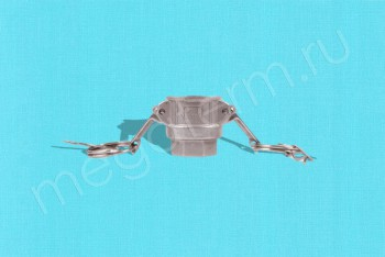 "D-050 Камлок Мама  13мм - Внутр. Резьба 1/2"". Алюминий - Производство и продажа полипропиленовых труб «МегаТерм»"
