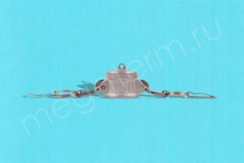 DC-050 Камлок Мама  13 мм - Заглушка. Нержав. Сталь - Производство и продажа полипропиленовых труб «МегаТерм»
