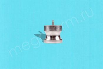 DР-100 Камлок Папа  25 мм - Заглушка. Нержав. Сталь - Производство и продажа полипропиленовых труб «МегаТерм»