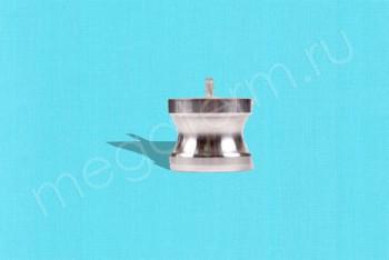 DР-125 Камлок Папа  32 мм - Заглушка. Алюминий - Производство и продажа полипропиленовых труб «МегаТерм»