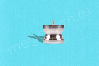 DР-125 Камлок Папа  32 мм - Заглушка. Нержав. Сталь - Производство и продажа полипропиленовых труб «МегаТерм»