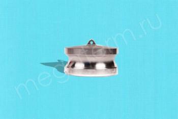 DР-300 Камлок Папа  75 мм - Заглушка. Нержав. Сталь - Производство и продажа полипропиленовых труб «МегаТерм»