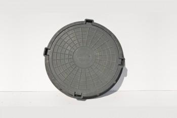 Люк  полимерно-песчаный тип Т (15 тн, зеленый) - Производство и продажа полипропиленовых труб «МегаТерм»