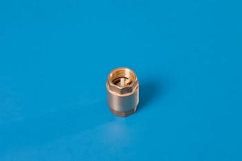 """Латунь. Клапан обратн. пружин. Ду20 (G 3/4"""") толкатель латунь - Производство и продажа полипропиленовых труб «МегаТерм»"""