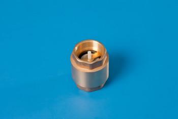 """Латунь. Клапан обратн. пружин. Ду32 (G 1.1/4"""") толкатель латунь - Производство и продажа полипропиленовых труб «МегаТерм»"""