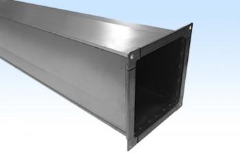 Воздуховод Прямоугольный  100х100, L=1250мм, Оцинк. Ст. 0,5 мм - Производство и продажа полипропиленовых труб «МегаТерм»