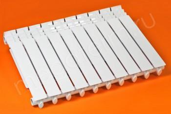 Радиатор Биметаллический 500/80 10 секций Тепловатт - Производство и продажа полипропиленовых труб «МегаТерм»