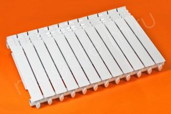 Радиатор Отопления Алюминий 500/100 12 секций STI - Производство и продажа полипропиленовых труб «МегаТерм»