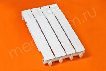 Радиатор Отопления Алюминий 500/80  4 секции Тепловатт - Производство и продажа полипропиленовых труб «МегаТерм»