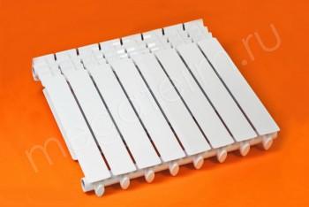 Радиатор Биметаллический 500/80  8 секций Тепловатт - Производство и продажа полипропиленовых труб «МегаТерм»