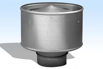 Дефлектор Круглого Воздуховода D 100, Оцинкованная Сталь 0,5 мм - Производство и продажа полипропиленовых труб «МегаТерм»